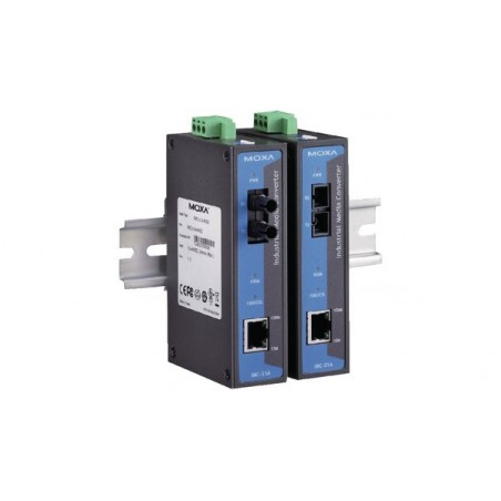 Mediekonverter RJ45 til 100Mbit Single Mode Fiber, SC