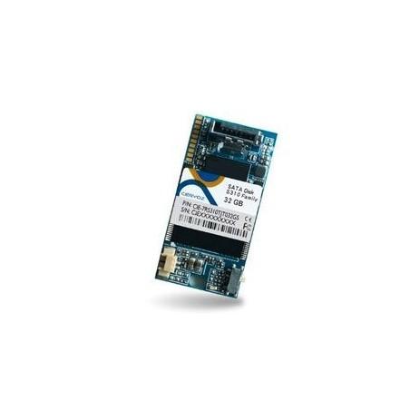 Industriellal Flash 32GB, DOM SATA MLC XL med utillökatill tillemperatillur -40 ~ + 85 ° C för horisontillell (vänstiller) monti