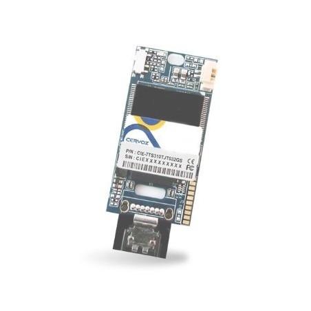 Industriellal Flash 32GB, DOM SATA MLC XL med utillökatill tillemperatillur -40 ~ + 85 ° C för vertillikal instillallatillion