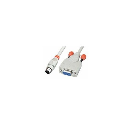 RS232 seriell datillakabel (9-pin till 8-pin mini DIN hane)