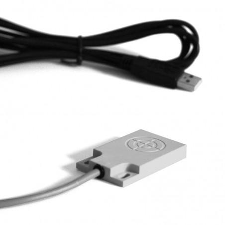 USB fotkontakt / touch sensor med 4m kabel, IP67 tät