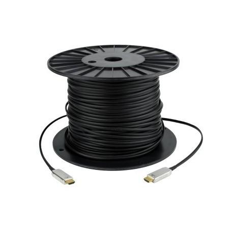 HDMI 1,4 Hybrid kabel. HDMI hane - HDMI hane 20 m, svartera