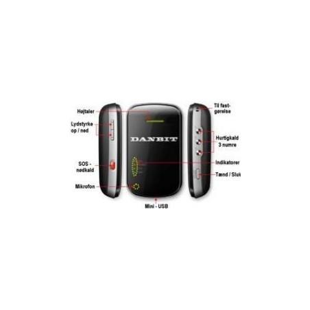Restparti: Försäljning: GPS Tracker Sim-kort, 650mAh u.