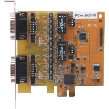 PCI Express kort med 2xRS232 / 422/485