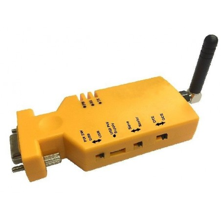 Trådlös RS232-anslutillning via UHF 433 MHz
