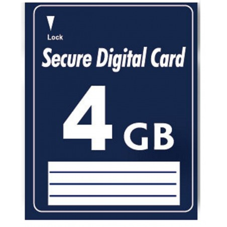 4GB SD Secure Digitillal Minneskort