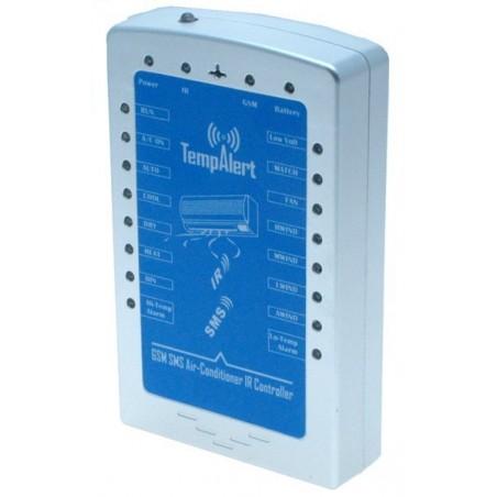 GSM enhet till kontroll av aircondition och värmepump via IR kommunikation