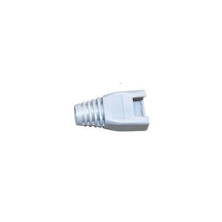 Grå isoleringsgenomföringar till RJ-45 (UTP) modul