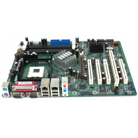 DFI G4H875-N P4 bundkort med PCI-X slot, FSB800 OS support XP, DOS, NT NEW !