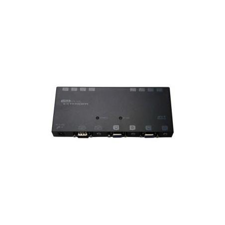 VGA boostiller, 4 portintillervalletill upp till 150 meter.VGA + Audio CAT5 Extender