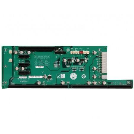 Bakplan 5 slitillsar MED en PCIe x16 eller PCIe x1-platills