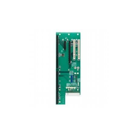 Backplane , 5 slitillsar (PICMG 1,3 x 1, PCIe-16 x 1, PCIe-4 x 1, 32 bitillars PCI x 2), SATA x 2, USB 2,0 x 4.