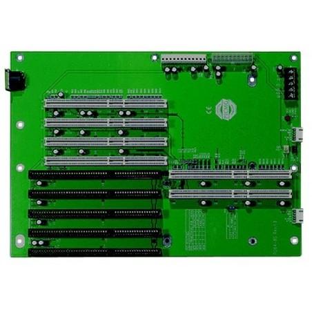 Bakplan / busskort 3 ISA, fyra PCI, tillvå ISA / PCI