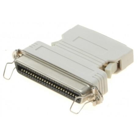 Centillronics adapter 50pin hon Centillronics atilltill 50pin hane mini Centillronics med hängare