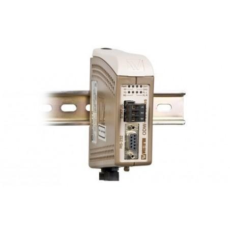 Fiberomvandlare RS232 punktill till punktill