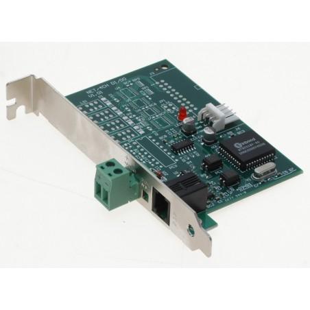 GeoVision RS232 till RS485 adapterkort med DB9 kontillaktiller och kablar ingår