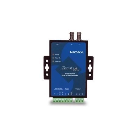 Moxa RS232 / 422/485 till fiber omvandlare, multilli, ST