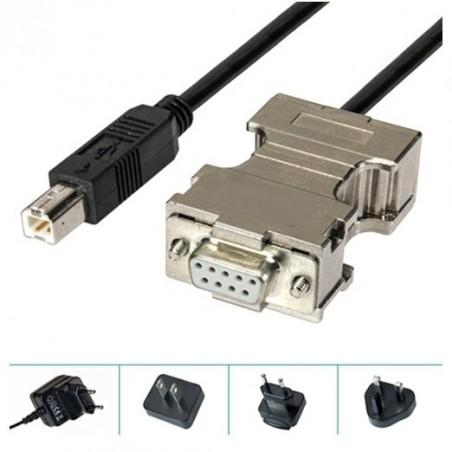 Konvertiller RS232 till USB B hane
