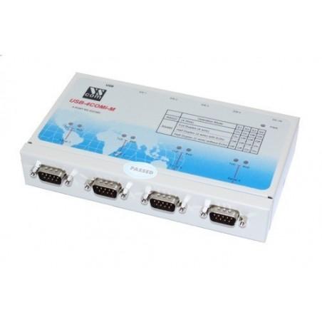 USB til 4 x RS422/485 omvandlare
