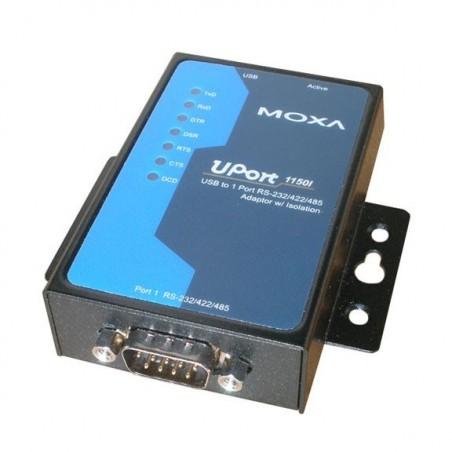 USB till 1x RS232/422/485 omvandlare, MOXA UPORT 1150I