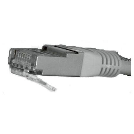 Restparti: RJ45-kabel, grå, CAT5, UTP