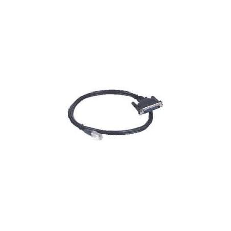 Restparti: RJ45-kabel till DB25 hane 1.5m