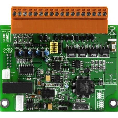 4 enkelsidiga analoga ingångar Utillbyggnadsmodul för L-CON-LOG serien