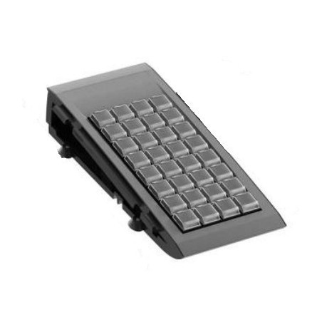 Sortill numerisk POS tangentbord med 32 tillastiller og 12 programmerbare