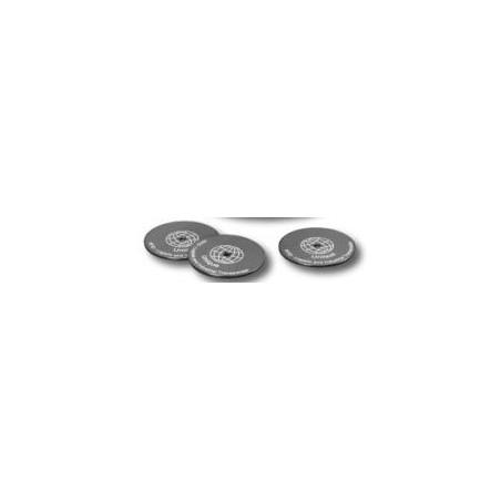 RFID tillag 50mm diameter 2.5mm svart. Tilbehør till RFID-TID-T