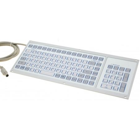 Restlager: Industritastatur med DK tegnsæt