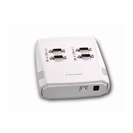 Restparti:lager: convertiller, USB till 4 x RS232/485