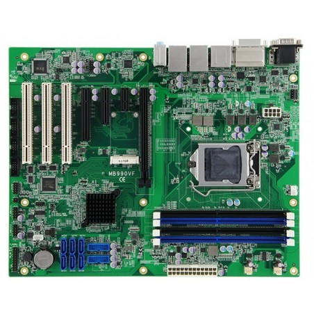 Industriel ATX motherboard baseret på 6 / 7 Gen Intel core processor fra Intel. 3 x PCI