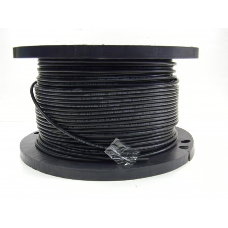 Löstill RG59 BNC-kabel på rulle, Svart, 75 ohm