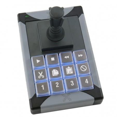 12 programmerbare tillastiller med joystillick till USB