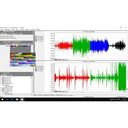 Softillware till logning og realtillime visning af datilla