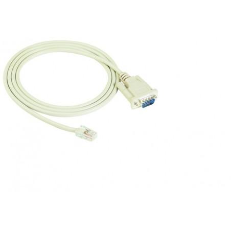 MOXA kabel RJ45 till DB9 hane med DTE intillerface, 1,5 meter