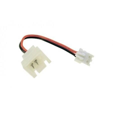 3 pin till 2 pin D fläkt adapter kabel, 5 cm