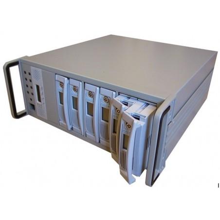 """4U RAID låda, 8 x 5 ¼"""" vattenrätt drev platser"""
