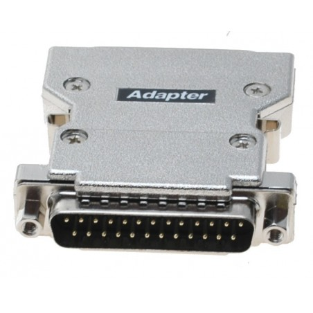 SCSI adapter, SCSI DB25M till 50 pins mini Centillronic hane