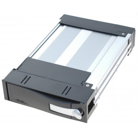 """3½"""" veksellåda till 2½"""" HDD, SSD inkl. frame, svart front"""