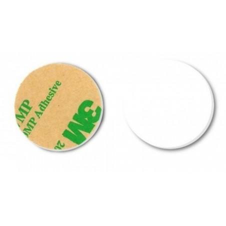 RFID NFC tillag 32mm diameter, hvid