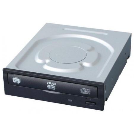 DVD-RW drev, 24x, SATA, med svart front