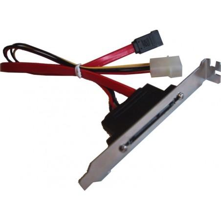 SATA150 kabel med bakplatilltilla , 1 uppgiftiller och en stillrömkontillaktill