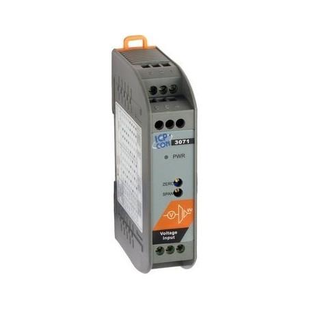 Omvaldlare från volt till 0-20mA. Isoleret DC-DC in/ output modul - strömtransmitter