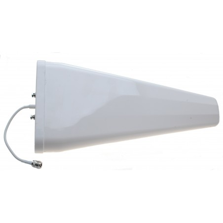 11 dBi LTE logperiodisk YAGI antenn, kabel med N hona, mast-fäste