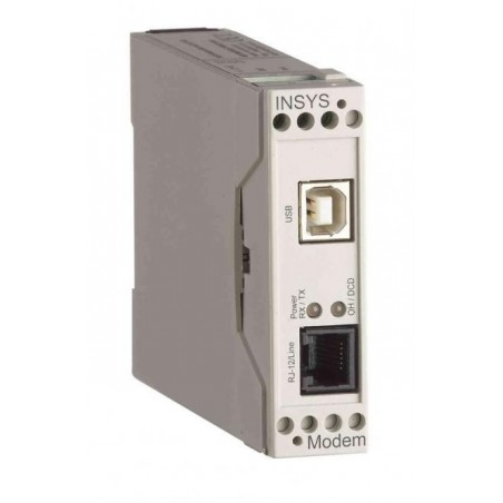 INSYS 56K Modem med USB intillerface