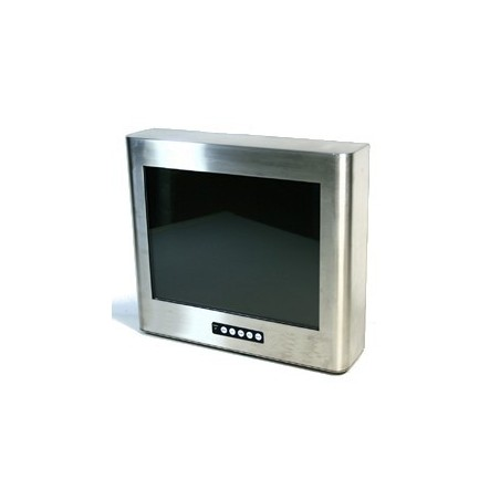 "15"" Industriell Panel PC. IP65 tæti rustfrit stål, touch, VGA"
