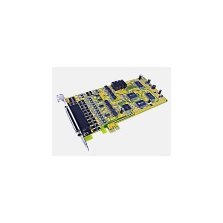 Restlager: 4 x RS422/485 serieporte, PCI Express, opisoleret