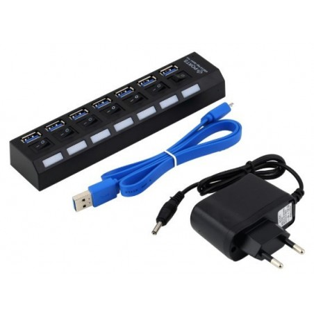 7-ports USB 3.0 HUB