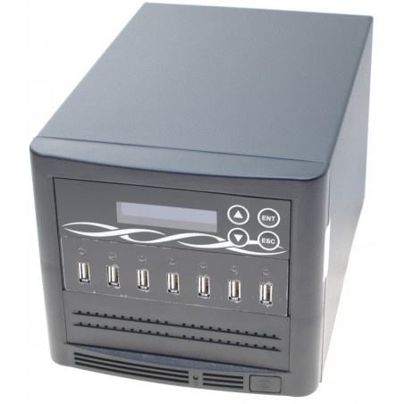 Duplikator til 6 x USB sticks. USB duplicator tower